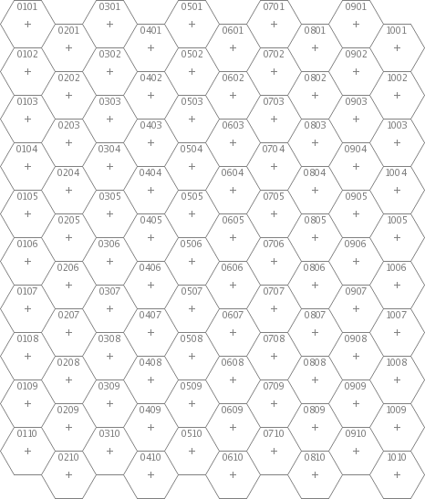 mkhexgrid a hex grid generator – Hexagon Graph Paper